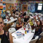 $15 Open Paint & Shattered Glass Buffet
